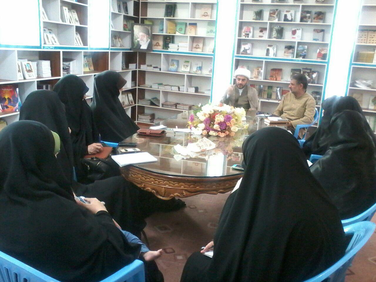 جلسه شورای برنامه ریزی واحد خواهران دارالقرآن مهدیشهر