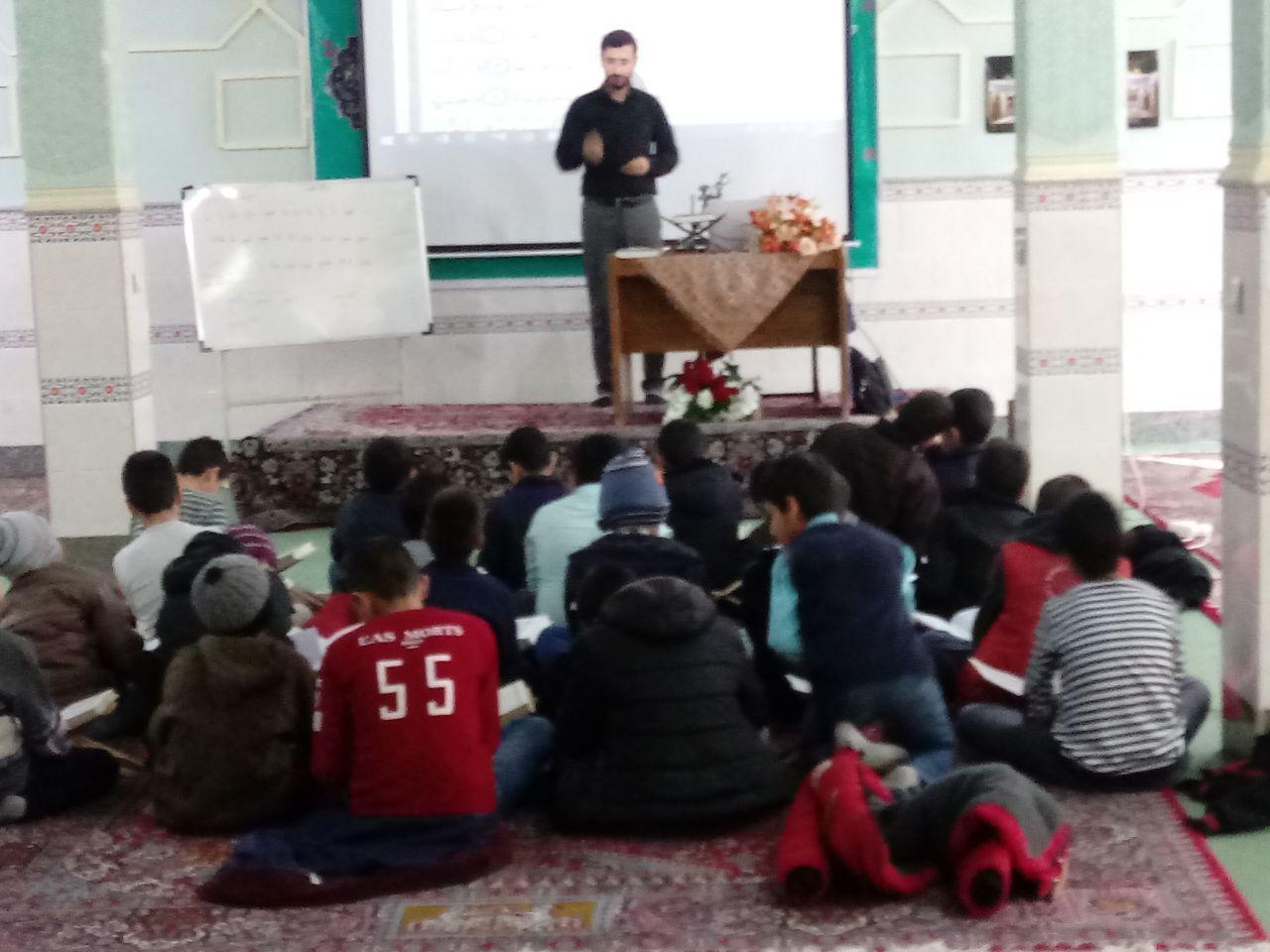 جلسه آموزش روخوانی قرآن همه هفته جمعه ها