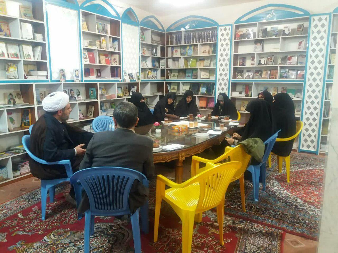 اولین جلسه هسته پژوهشی و مطالعاتی خواهران در خصوص تبیین بیانیه گام دوم انقلاب