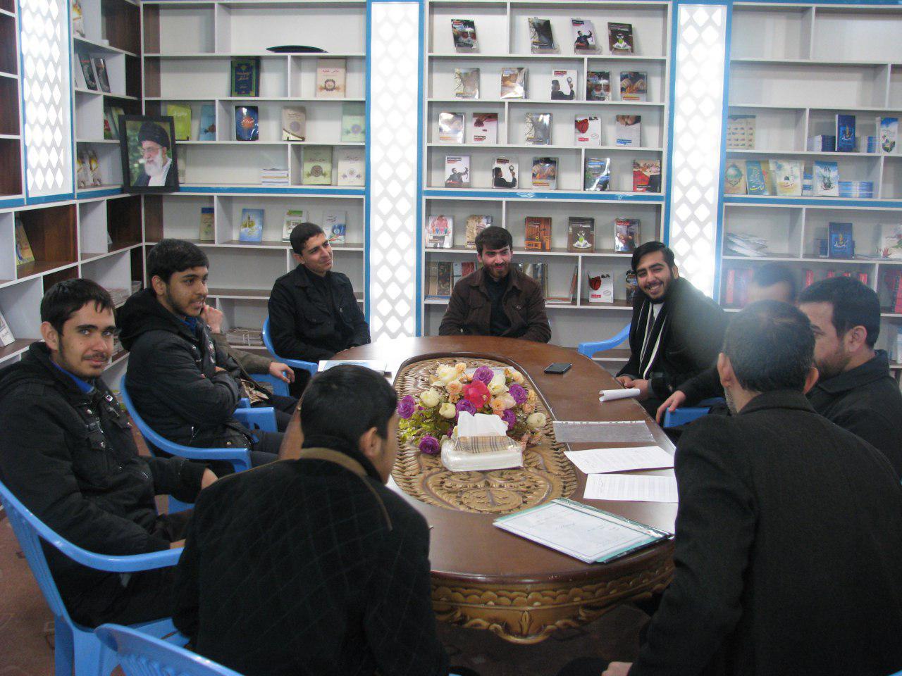 جلسه توجیهی گروه برادران طرح مطالعاتی آرامش ماندگار جهت اعزام به مدارس سطح شهرستان